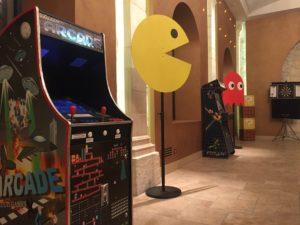 aniamtion borne d'arcade marseille
